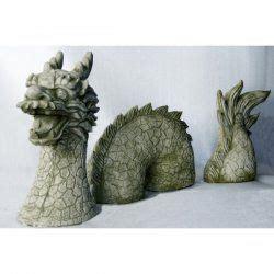 Deko Chinesischer Garten by Deko Figur F 252 R Den Garten Chinesischer Drachen Dreiteilg