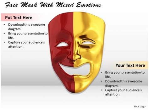 face mask  mixed emotions image graphics