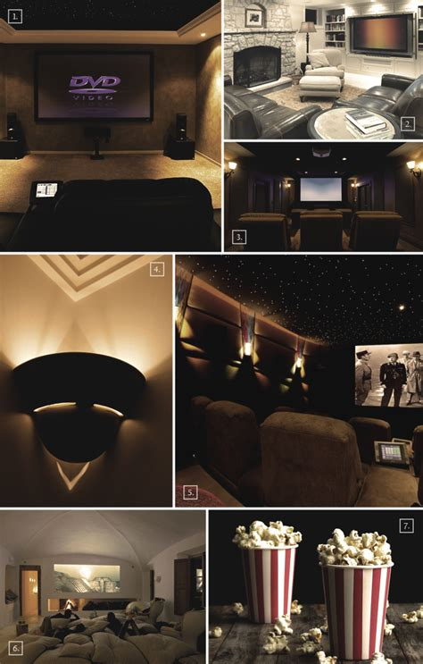 Basement Home Theater Ideas by Designs And Ideas For A Basement Home Theater Home Tree