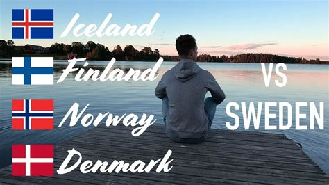 nordic countries  denmark norway finland iceland  sweden youtube