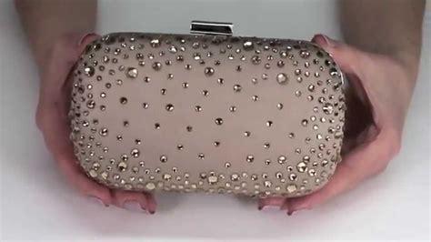 clutch satin pink silver diamonte box clutch bag clutch grey blue