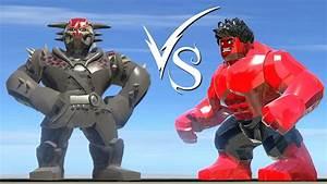 Kurse (Dark World) Vs Red Hulk - LEGO Marvel Super Heroes ...