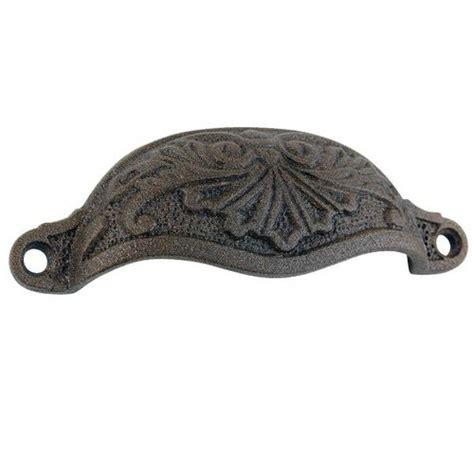 rustic iron cabinet pulls top knobs rustic iron bin pull van s restorers