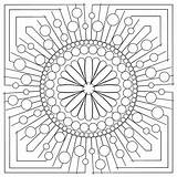 Coloring Patterns Mandala Circle Strip Adult Block Stencils Sweetdreamsquiltstudio Pyrography Dreams Sweet Quilting sketch template