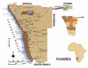 Namibia Full Map