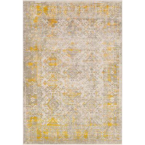 mustard area rug surya jax mustard 5 ft 2 in x 7 ft 6 in indoor area