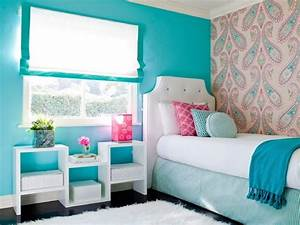 Simple Design Comfy Room Colors Teenage Girl Bedroom Wall ...