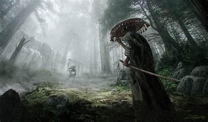 Samurai Knight Concept Rudolph Artwork Tony Fantasy