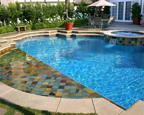 pool tile and coping ideas 42 best finish for pools water color images on pinterest pool water swimming pool water and