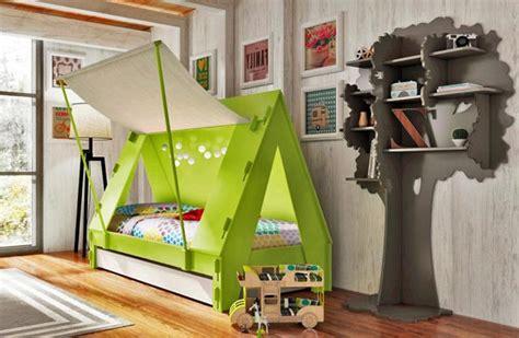 meuble cuisine caravane lits créatifs pour la chambre des enfants