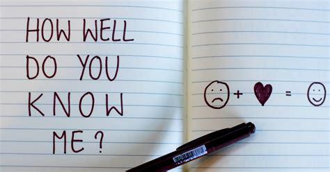 How Well Do You Know Me? - Quiz - Quizony.com
