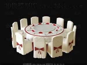 wedding tables and chairs wedding used table and chairs 3d model free 3d models