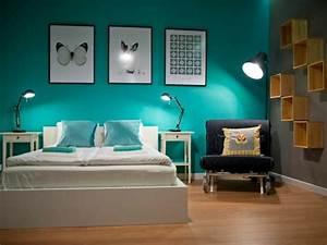 chambre noir blanc turquoise 040758 gtgt emihemcom la With chambre turquoise et noir