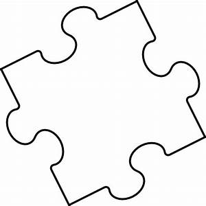 blank puzzle piece clip art at clkercom vector clip art With large blank puzzle pieces template