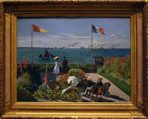 Terrasse à Sainte Adresse Monet Analyse by Famous Seascape Paintings International Geoffrey Chatten