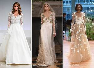 fall 2017 bridal fashion trends fashionisers With 2017 wedding dress trends