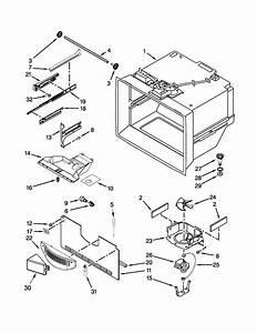Freezer Liner Parts Diagram  U0026 Parts List For Model
