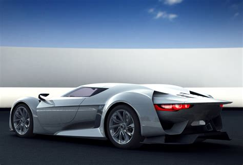 New Citroen Gt Supercar By The Makers Of Gran Turismo