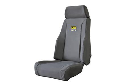 tjm canvas seat covers suit isuzu dmax  front