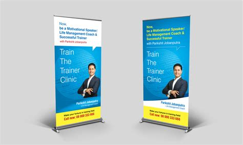 Photo : Roll Up Banner Stand Images. Banner Design Ideas
