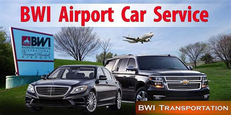Airport Service by Bwi Baltimore Washington International Car Service And