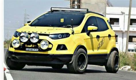 hot modified ford ecosport suvs  india