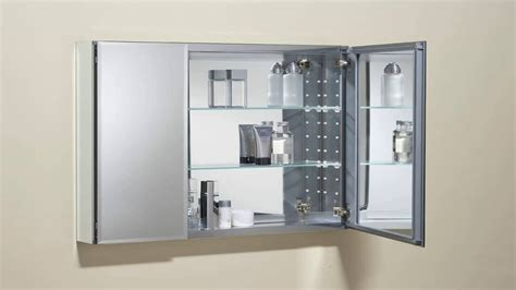 Bathroom Cabinet Mirrored by Bathroom Medicine Cabinets Recessed Storage Space