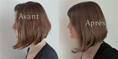 gingembre cheveux avant apres la recette coiffure