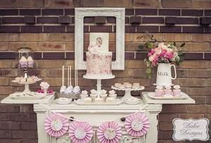 Idee Sympa Pour Bapteme : decoration de table pour bapteme fille ~ Farleysfitness.com Idées de Décoration