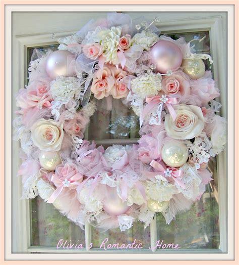 shabby chic wreaths olivia s romantic home romantic rose wreath