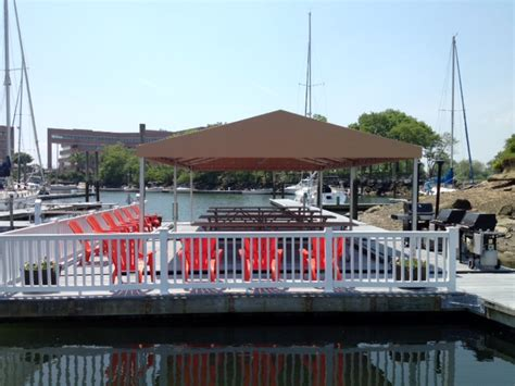 brewers yacht haven marina stationary canopy