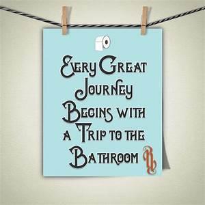 Best 25 bathroom sayings ideas on pinterest cute for Cute sayings for bathroom walls