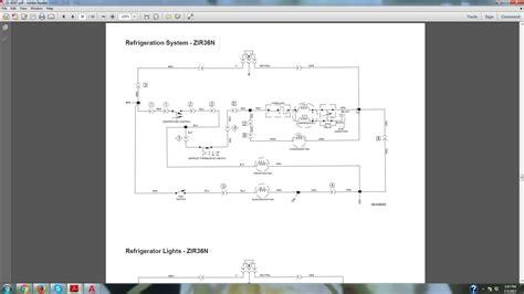 im working   ge refrigerator zirnmhrh    defrost problem  replaced