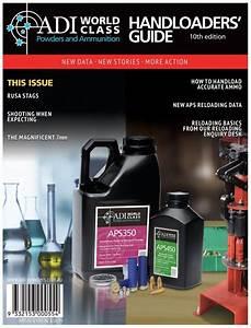 Adi Reloading Manual 10th Edition