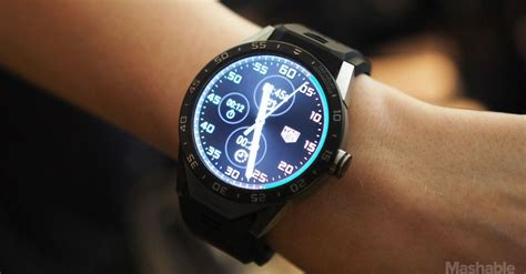 android wear smartwatch the tag heuer connected is a 1 500 android wear