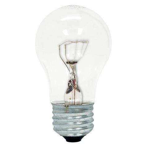 ge 40 watt incandescent a15 ceiling fan clear