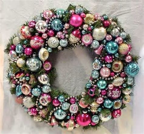 fabbbbulous vintage ornament wreath holidayjenny flickr