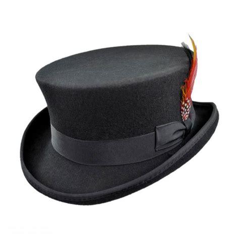 top hat table l jaxon hats deadman wool felt top hat top hats