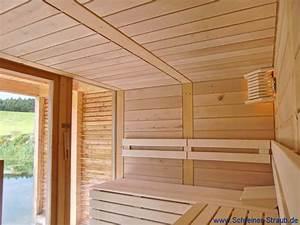 garten sauna schreiner straub wellness wohnen With französischer balkon mit finnische sauna für den garten