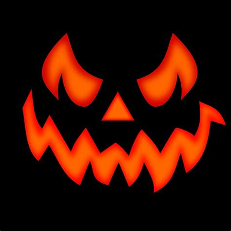 scary pumpkin faces for scary pumpkin face by martin capek