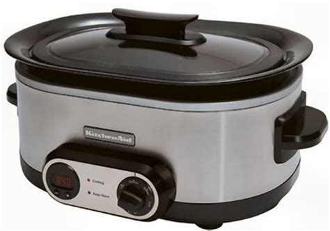 Kitchenaid Slow Cooker  Programmable Powerful Slow Cooker