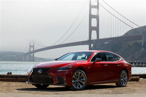 lexus ls 2018 lexus ls 500 f sport adds visual aggression handling