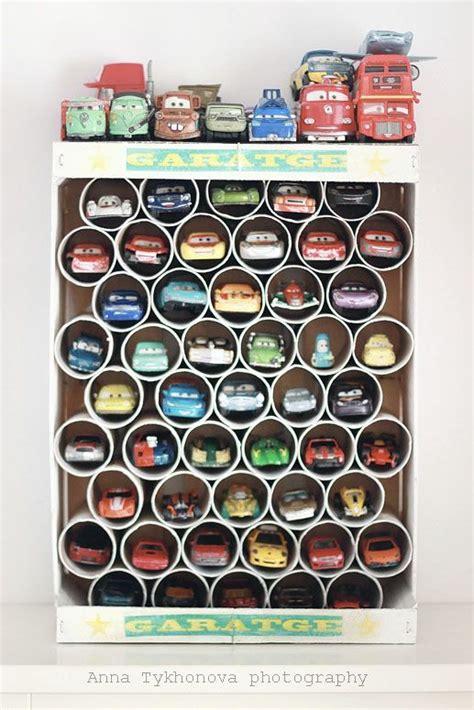 Diy Toy Car Garage Storage  My Boys Pinterest