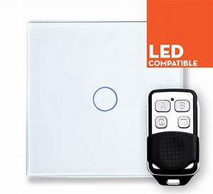 Led Touch Dimmer : retrotouch white touch led dimmer with remote 1 way plain ~ Frokenaadalensverden.com Haus und Dekorationen