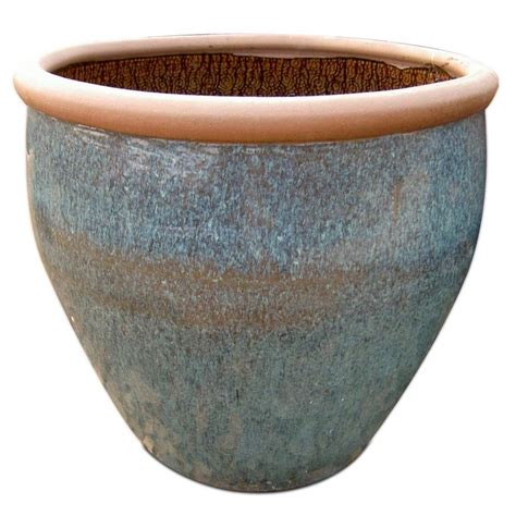 ceramic planters home depot 25 in rustic ceramic planter rpl the home depot