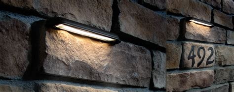 led retaining wall lights hardscape lights dekor lighting