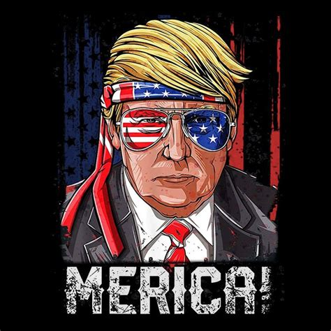 Clip art in svg, eps, dxf, ai and png. Merica trump sunglasses funny usa flag 4th of july vintage ...