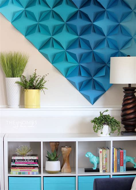 renter friendly  paper wall art