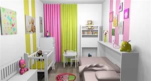 Chambre Bébé Fille : les concepteurs artistiques couleur pour chambre bebe garcon ~ Teatrodelosmanantiales.com Idées de Décoration