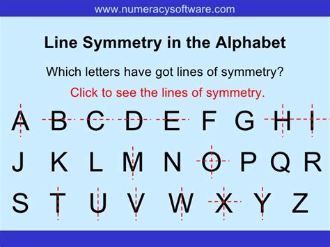 which letter has rotational symmetry symmetry 40709